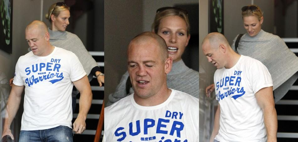 Zara Phillips Joins Husband Mike Tindall Ahead of Rugby Match in New Zealand (PHOTOS)