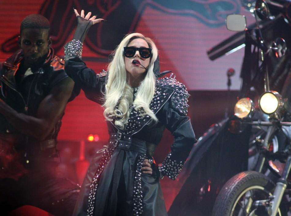 Lady Gaga at iHeartRadio Music Festival