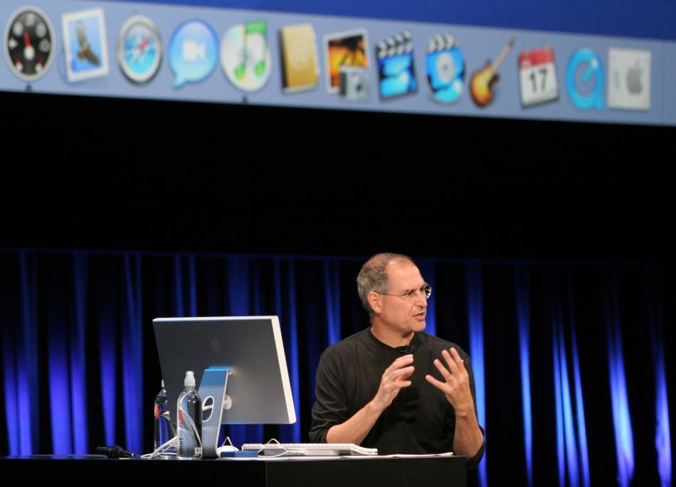 Apple Computer Inc. Chief Executive Officer Steve Jobs speaks during a special event in Tokyo