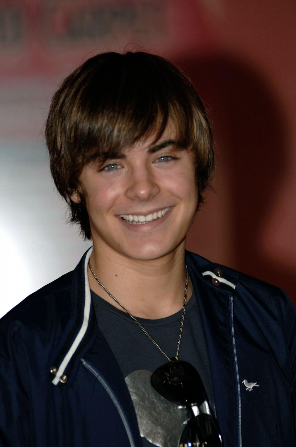 Zac Efron in 2006.