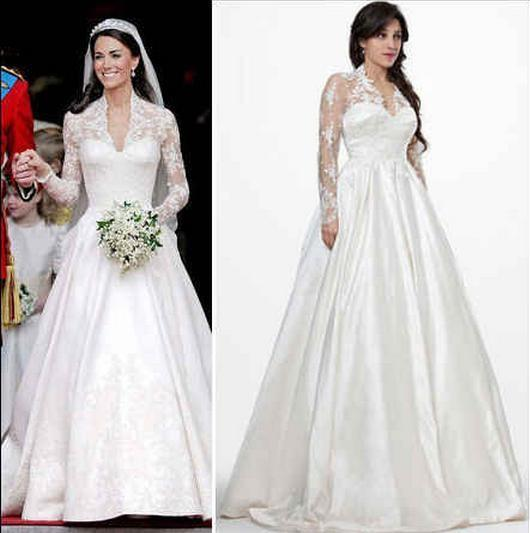 Bella Swan, Kate Middleton or Kate Moss: Who Has the Best Wedding Gown?