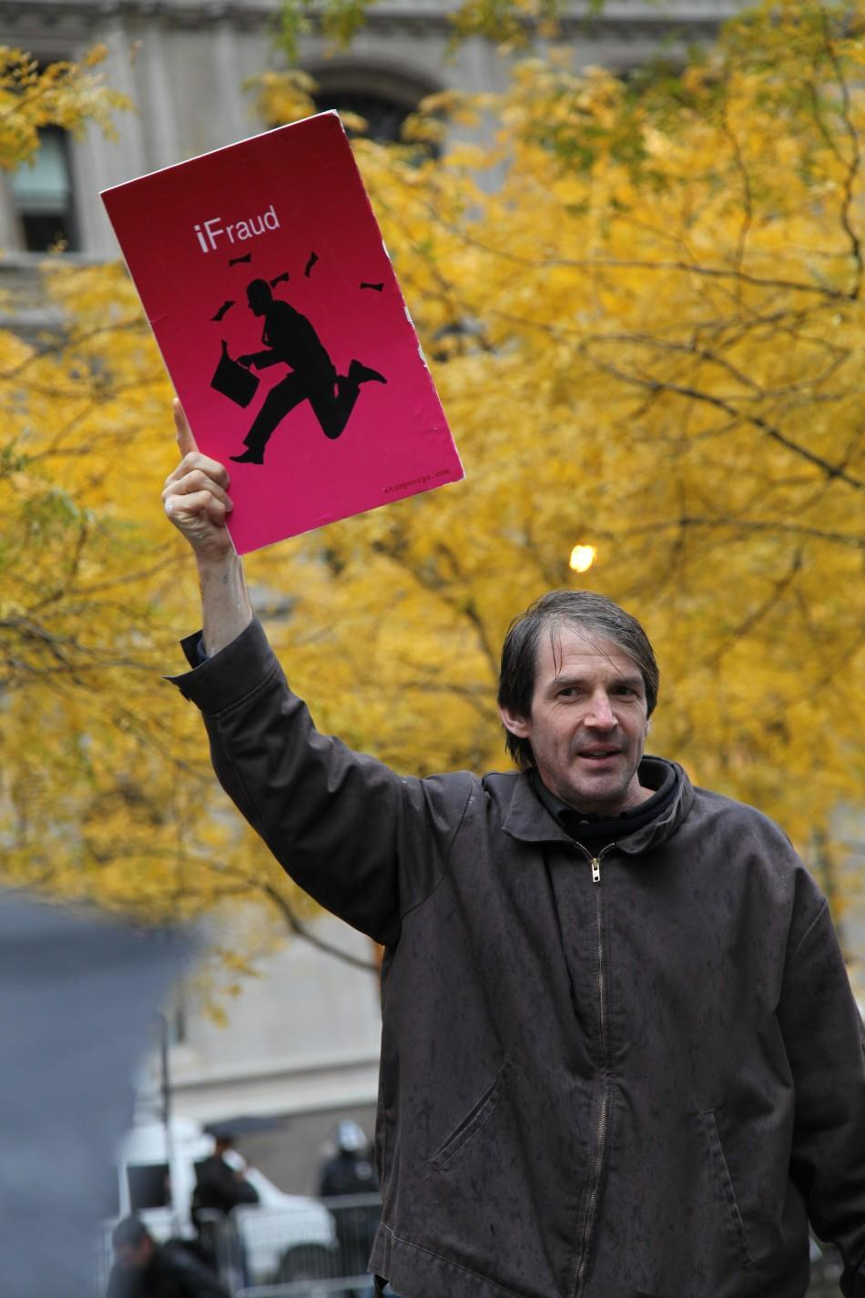 Occupy Wall Street Protester