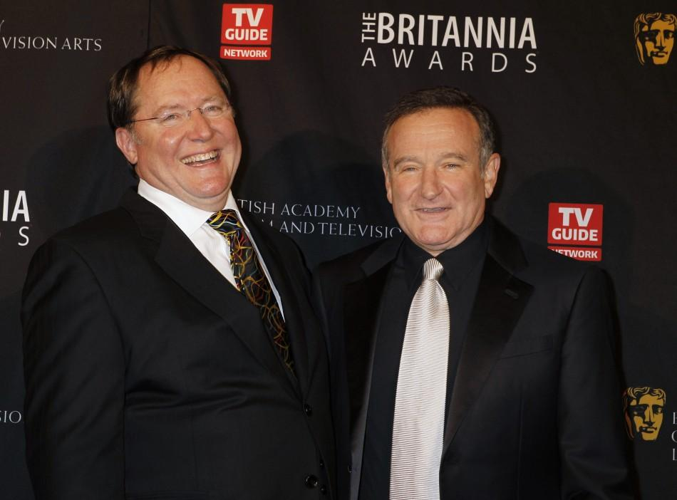 Robin Williams, John Lasseter