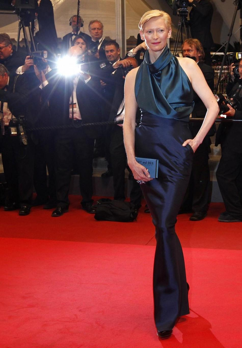 """Tilda Swinton at the Red Carpet Screening of """"We Need to Talk about Kevin"""""""