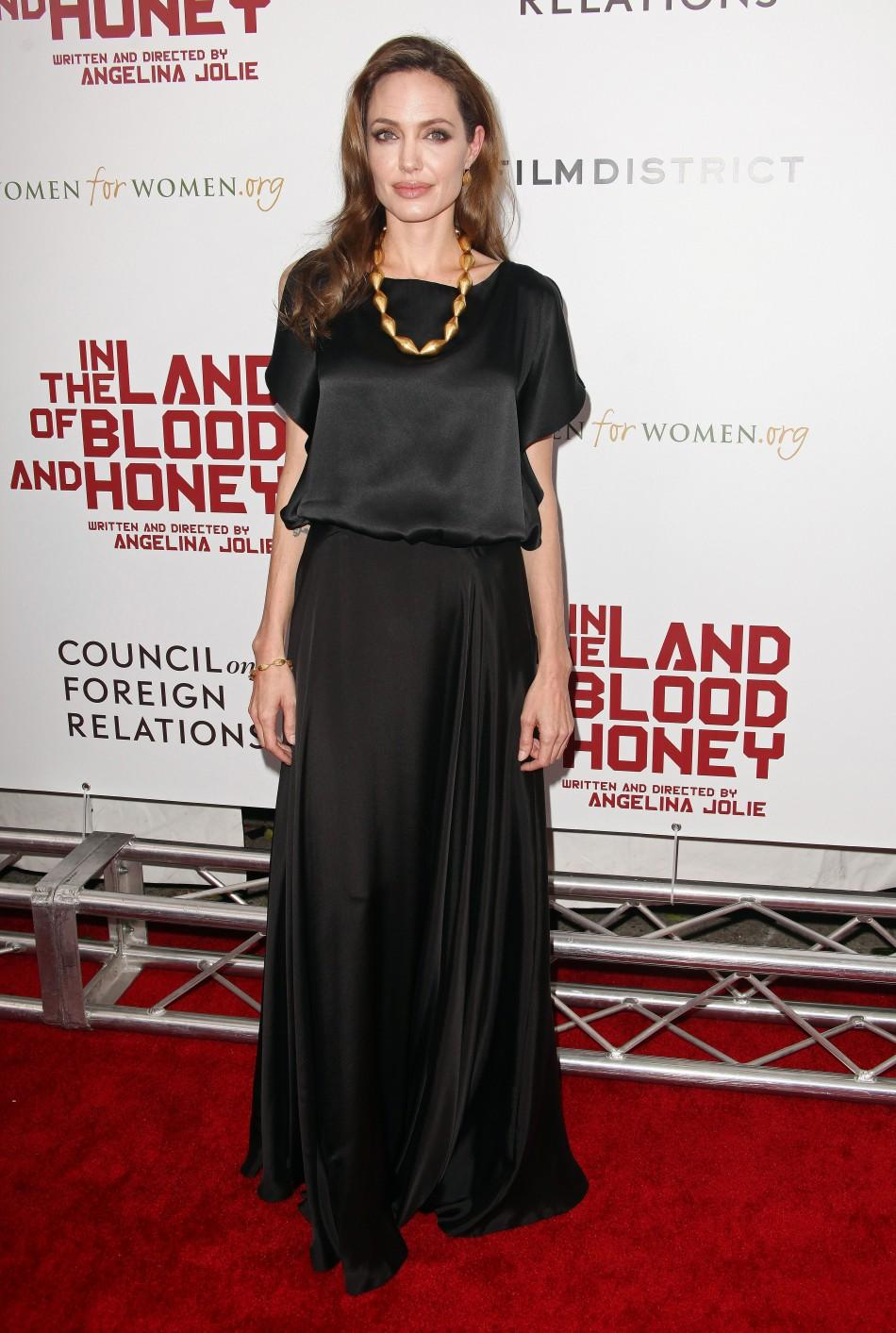 All-Black: A Look at Angelina Jolie's Fashion Stance