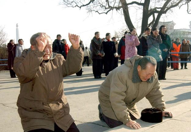 North Koreans Mourn Kim Jong Il