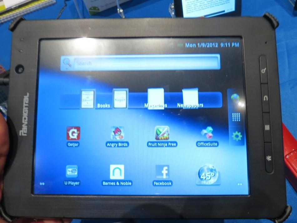Pandigital Supernova 8-inch Android media tablet