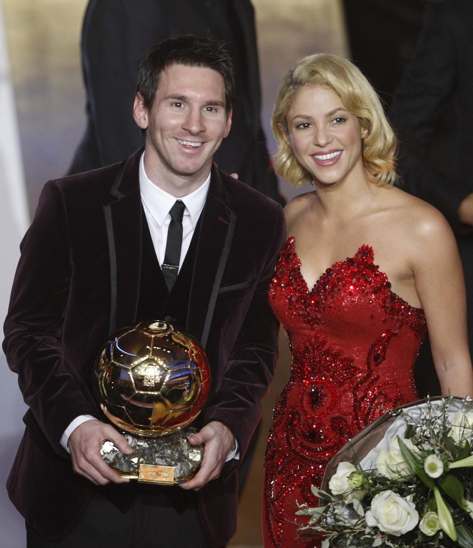 Messi Wins Third FIFA Balloon D'Or Award: Top Moments 2011