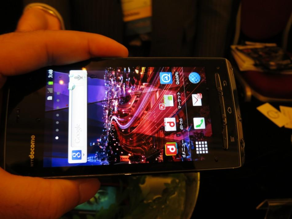 Fujitsu Shows off Waterproof Smartphones and Tablet at CES 2012 (PHOTOS)