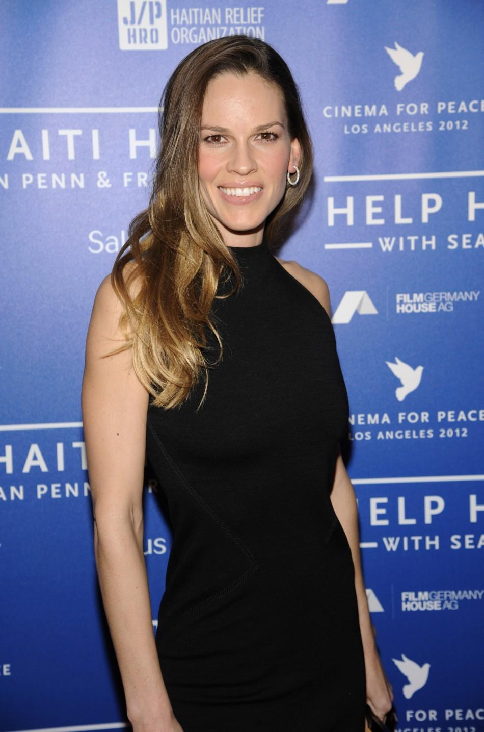 Hollywood Stars at the Cinema for Peace Haiti Relief Fundraising Event
