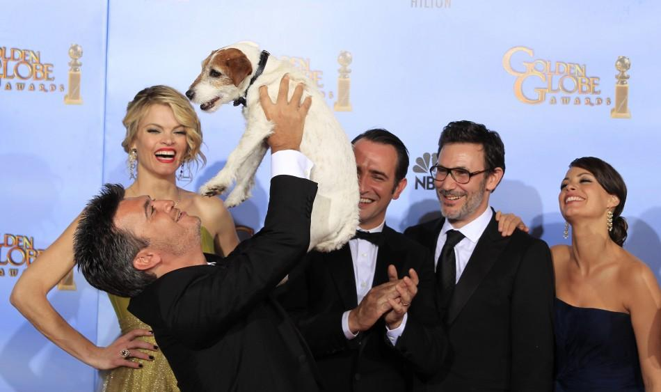 Golden Globe Award 2012: Dog Star Uggie