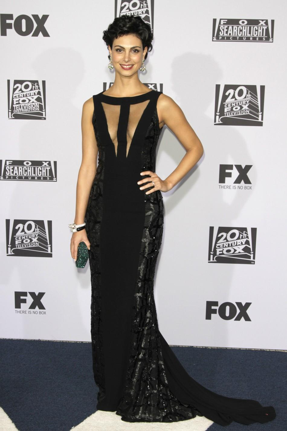 Actress Morena Baccarin arrives at the FOX after party at the 69th annual Golden Globe Awards in Beverly Hills, California