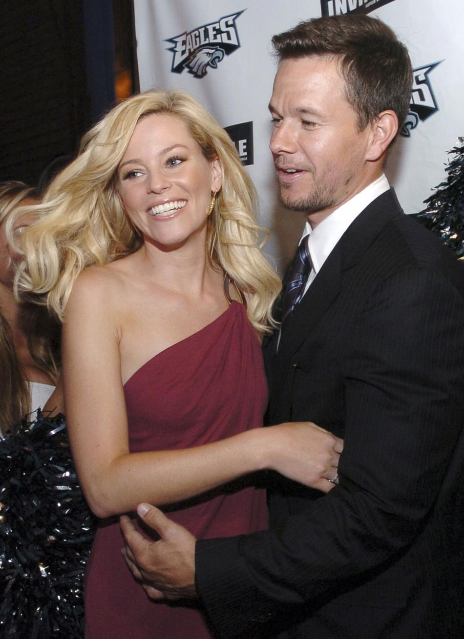 Actors Elizabeth Banks and Mark Wahlberg