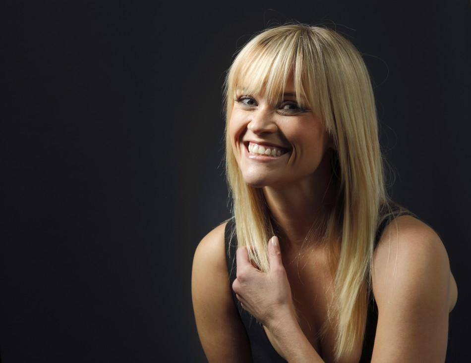 "Actress Reese Witherspoon poses for a portrait while promoting the film ""This Means War"" in Los Angeles"