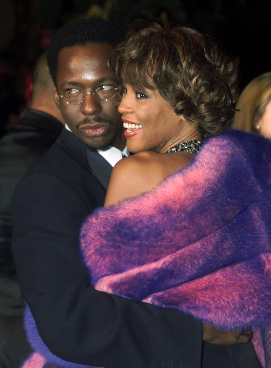 Whitney Houston and Bobby Brown