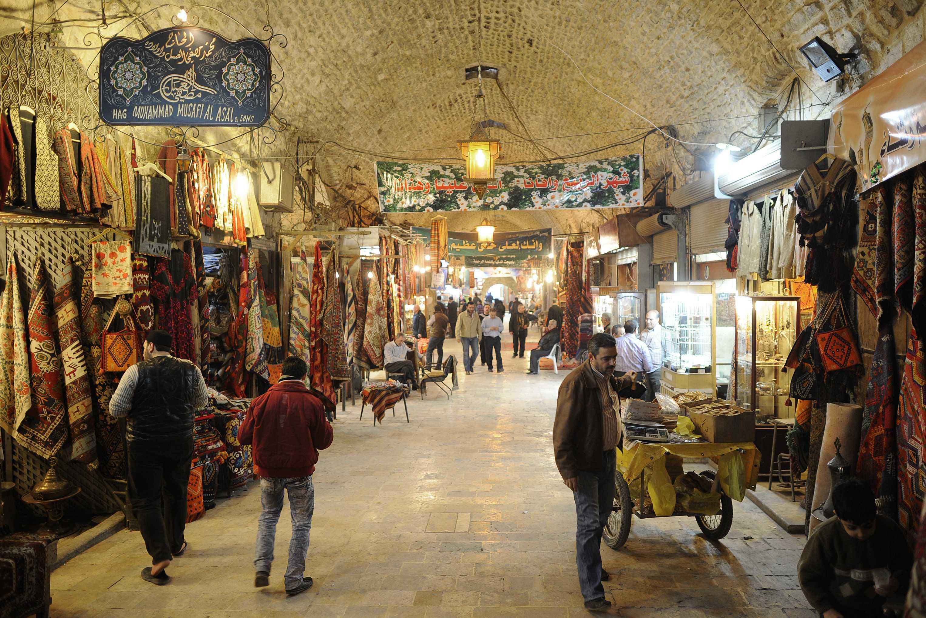 File photo of the souk in better times.