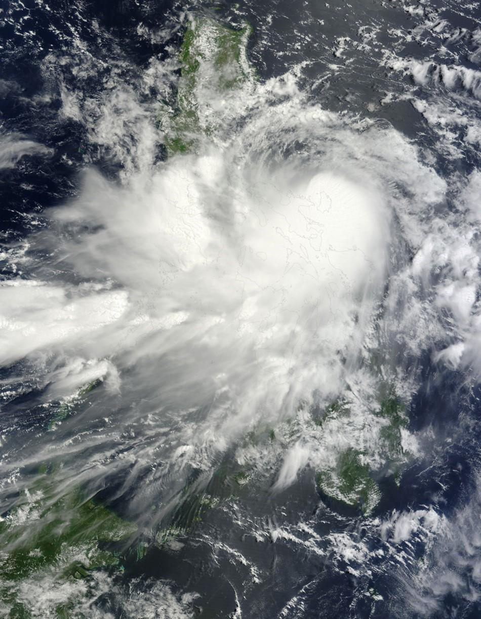 A Slow Moving Tropical Storm