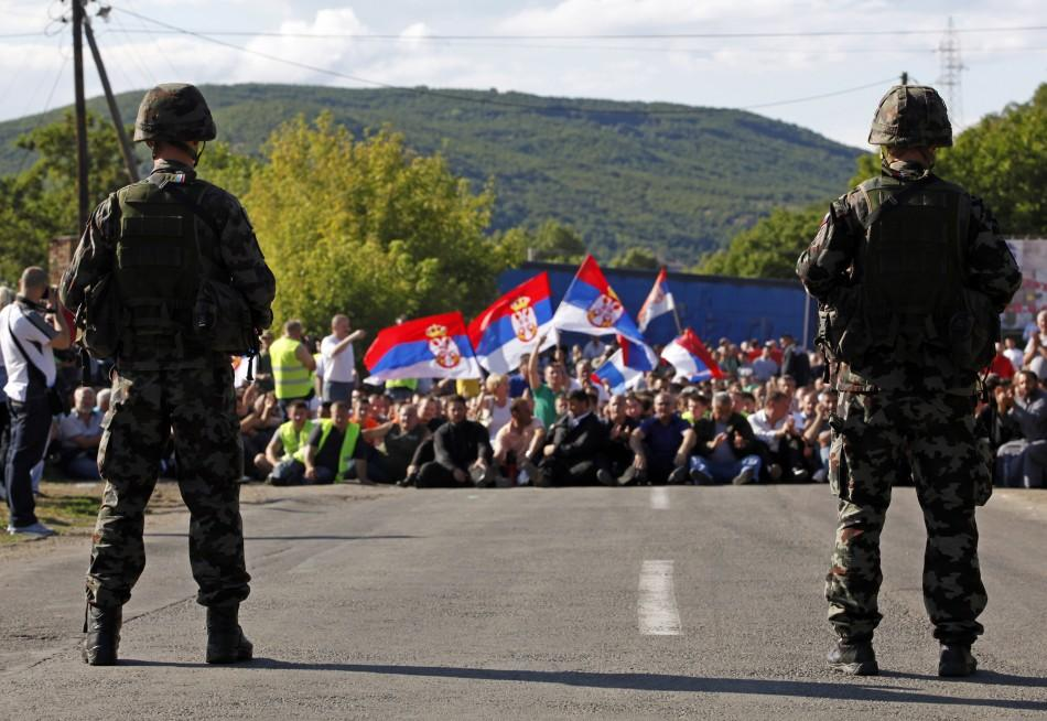 Kosovo Serbs Barricades Roads in Against Their Peaceful Protests (Pictures)