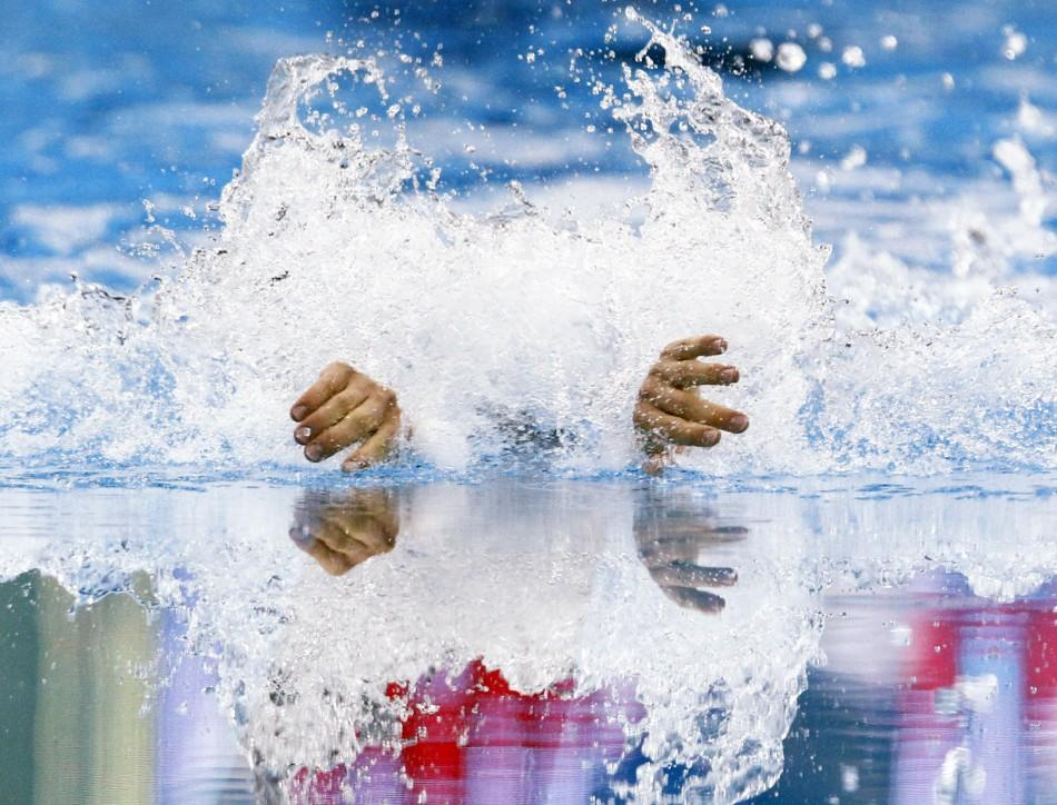 Macedonia's Marko Blazevski competes in the men's 400m individual medley heats at the 14th FINA World Championships in Shanghai July 31, 2011.