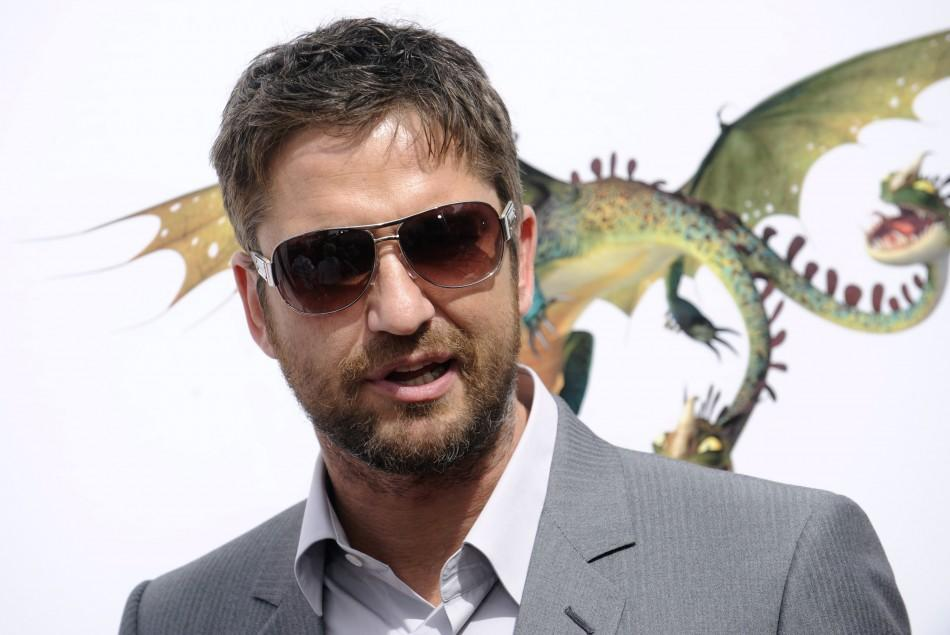 Cast member Gerard Butler attends the premiere of the film How to Train Your Dragon in Los Angeles