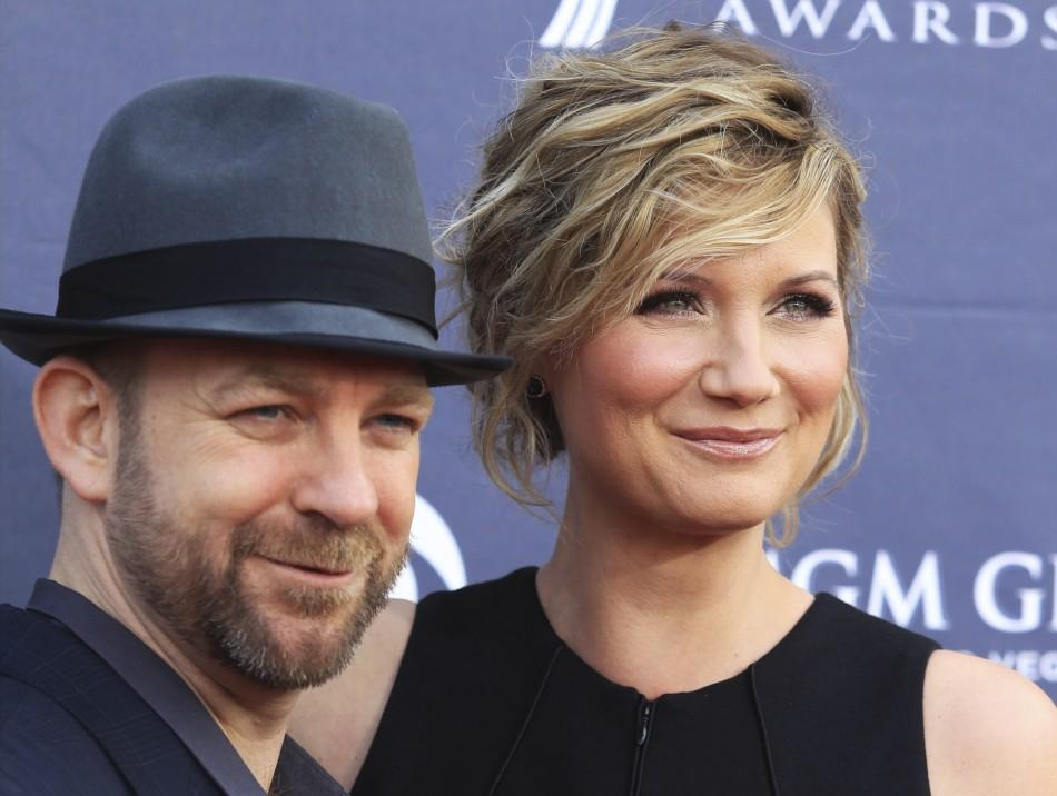 Bush and Nettles of Sugarland arrive at the 46th annual Academy of Country Music Awards in Las Vegas
