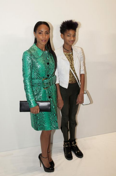 Jada Pinkett Smith and Willow