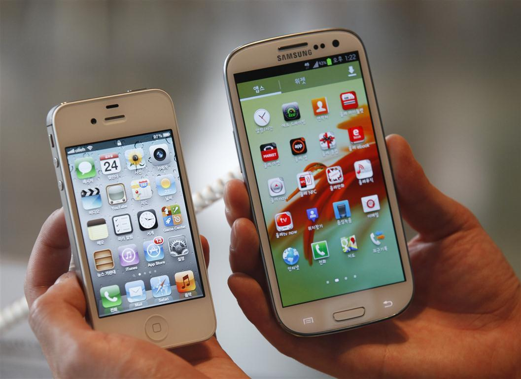 Galaxy S4 Outsells iPhone 5