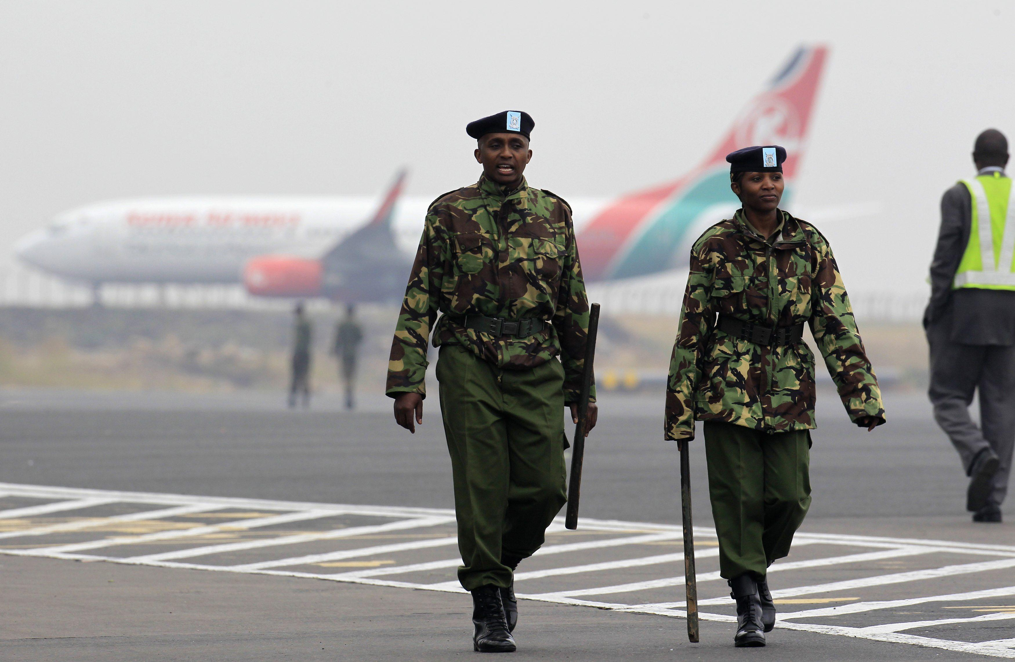 2013-08-07 Nairobi Airport Fire- Aircraft Grounded