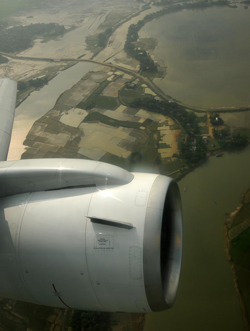 Bangladesh from the air