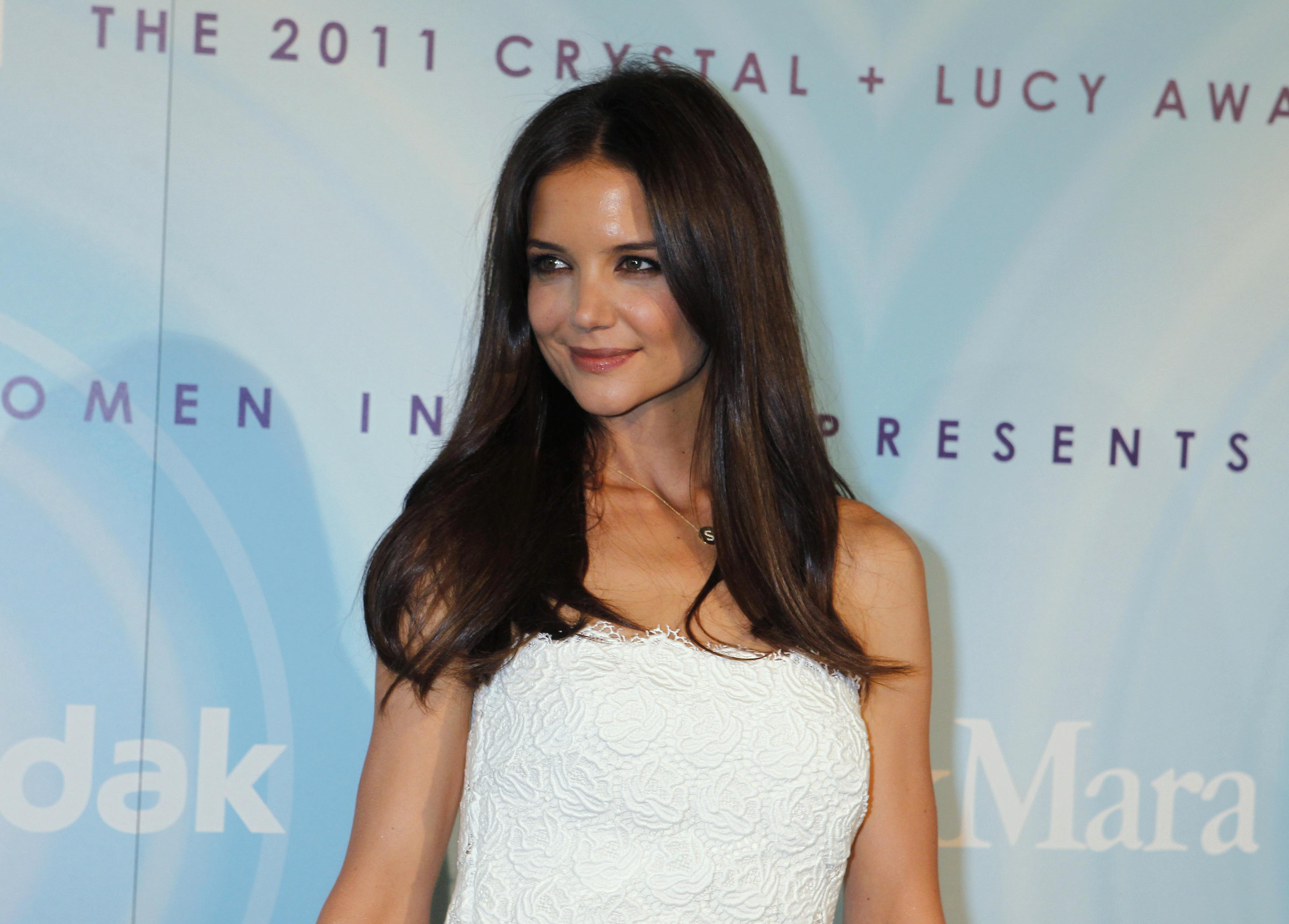 Katie Holmes as Mrs. Robinson?