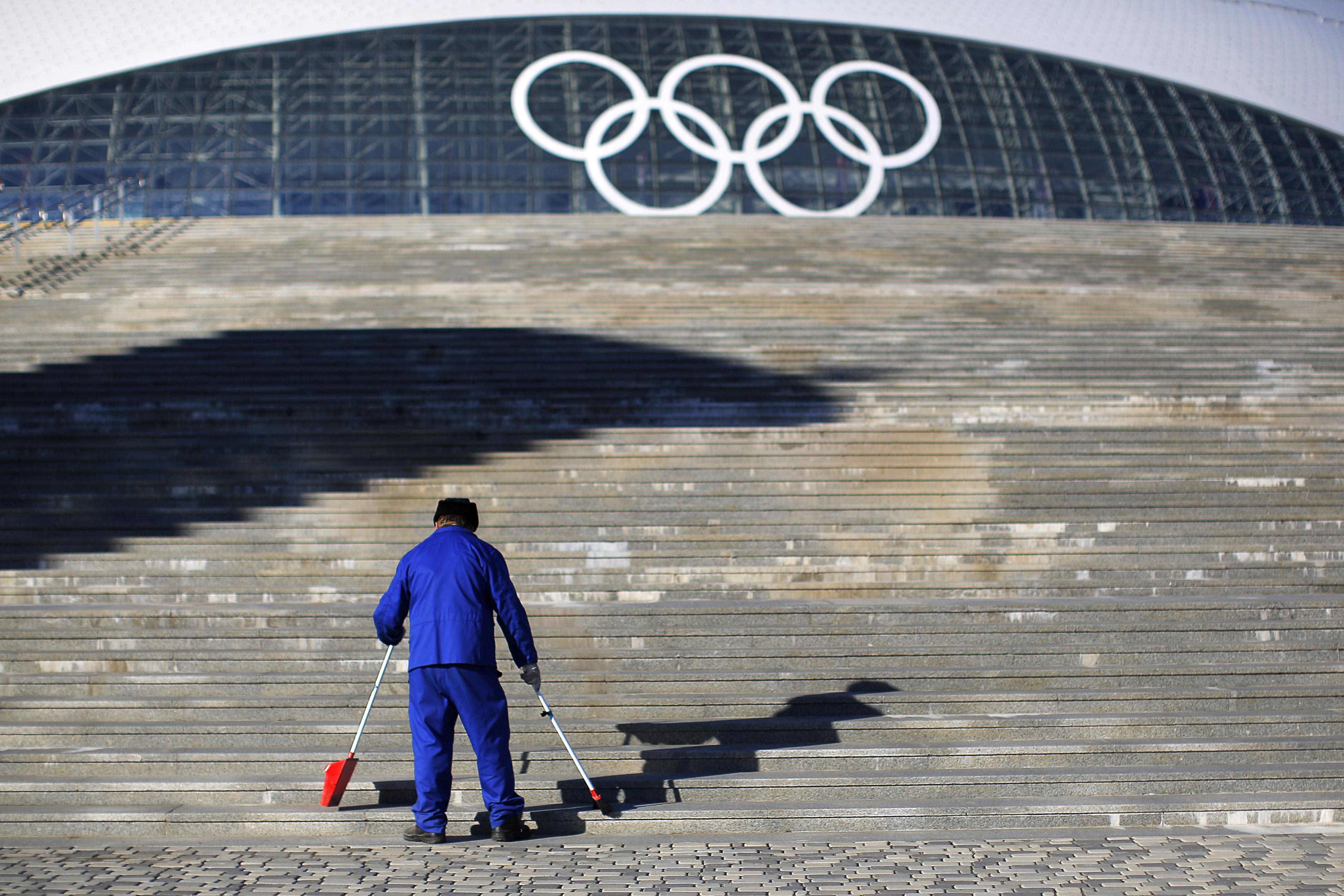 Sochi Olympic Stairs