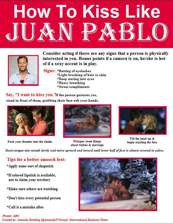 Juan Pablo Kissing