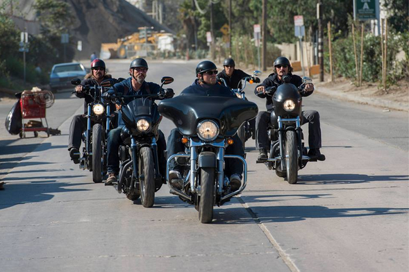 'Sons Of Anarchy' Feud With 'The Devils Ride'