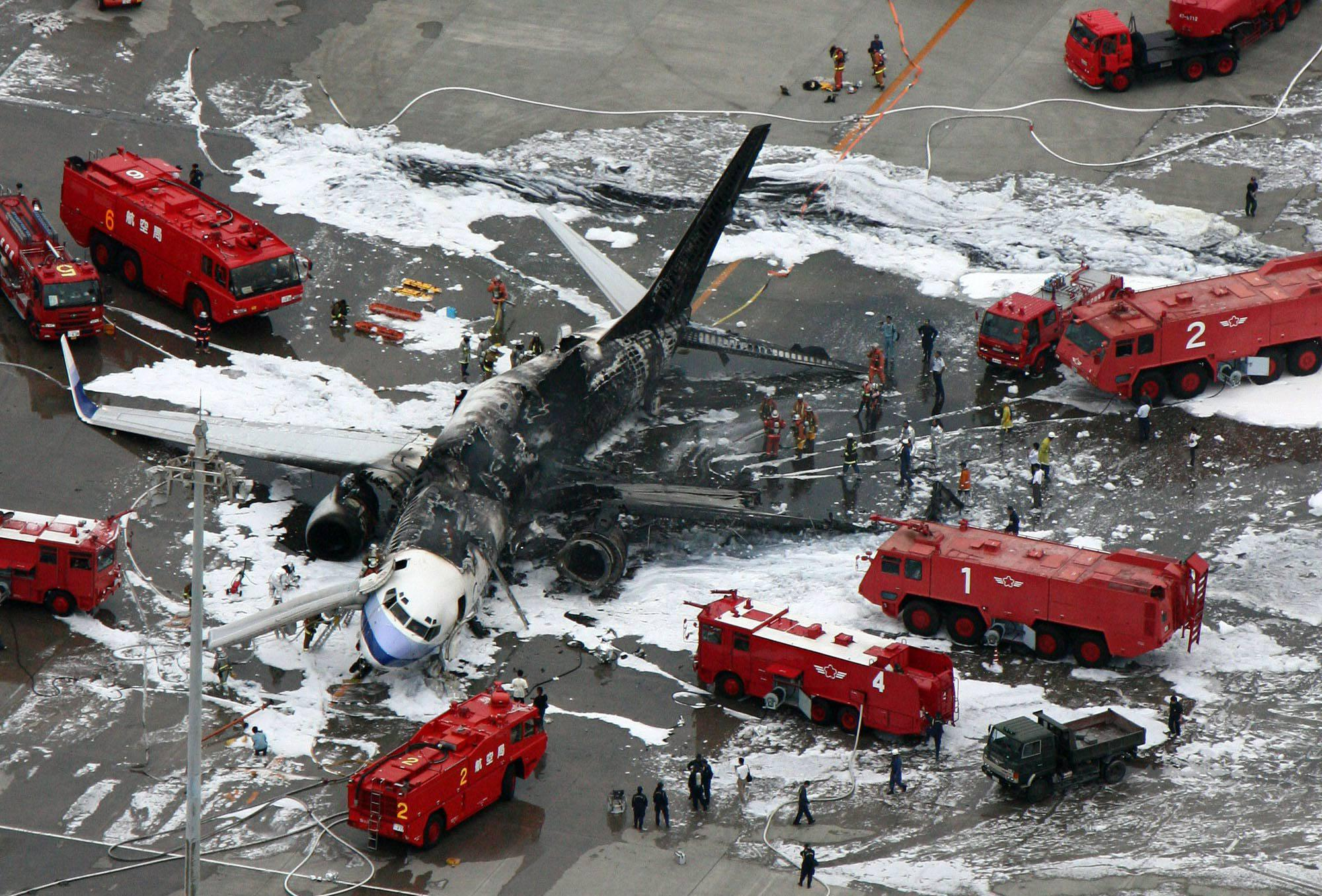 China Airlines Crash Japan August 2007