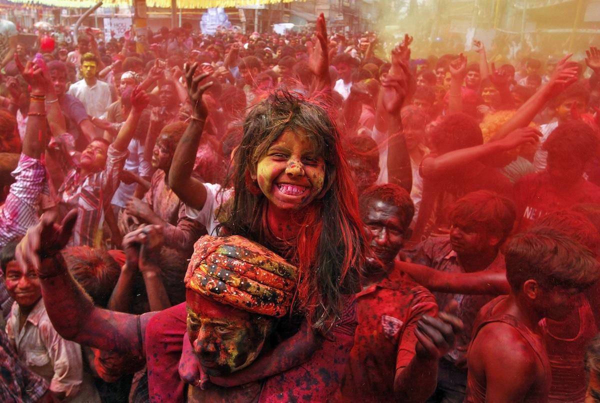 Holi pictures 2014