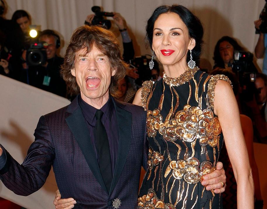 L'Wren Scott And Mick Jagger1