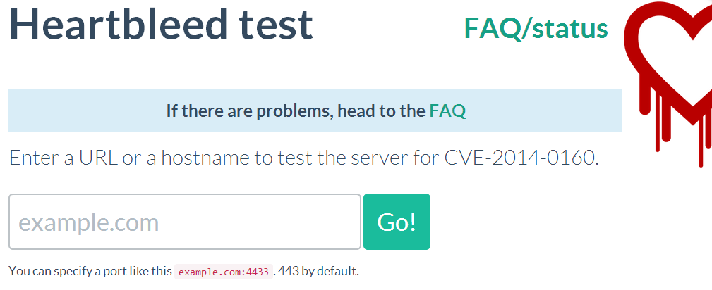 heartbleed test site