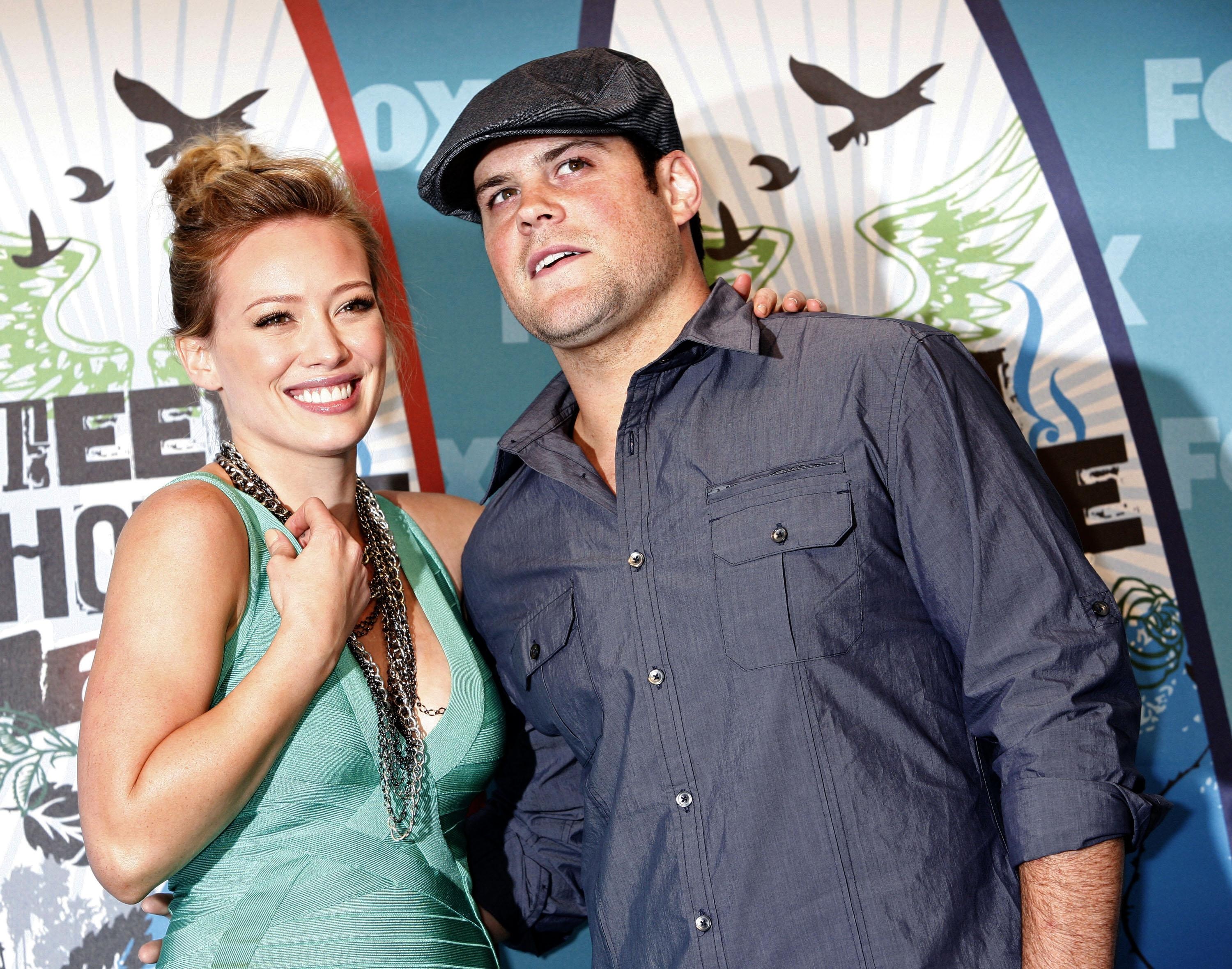 Hilary Duff, Husband Mike Comrie