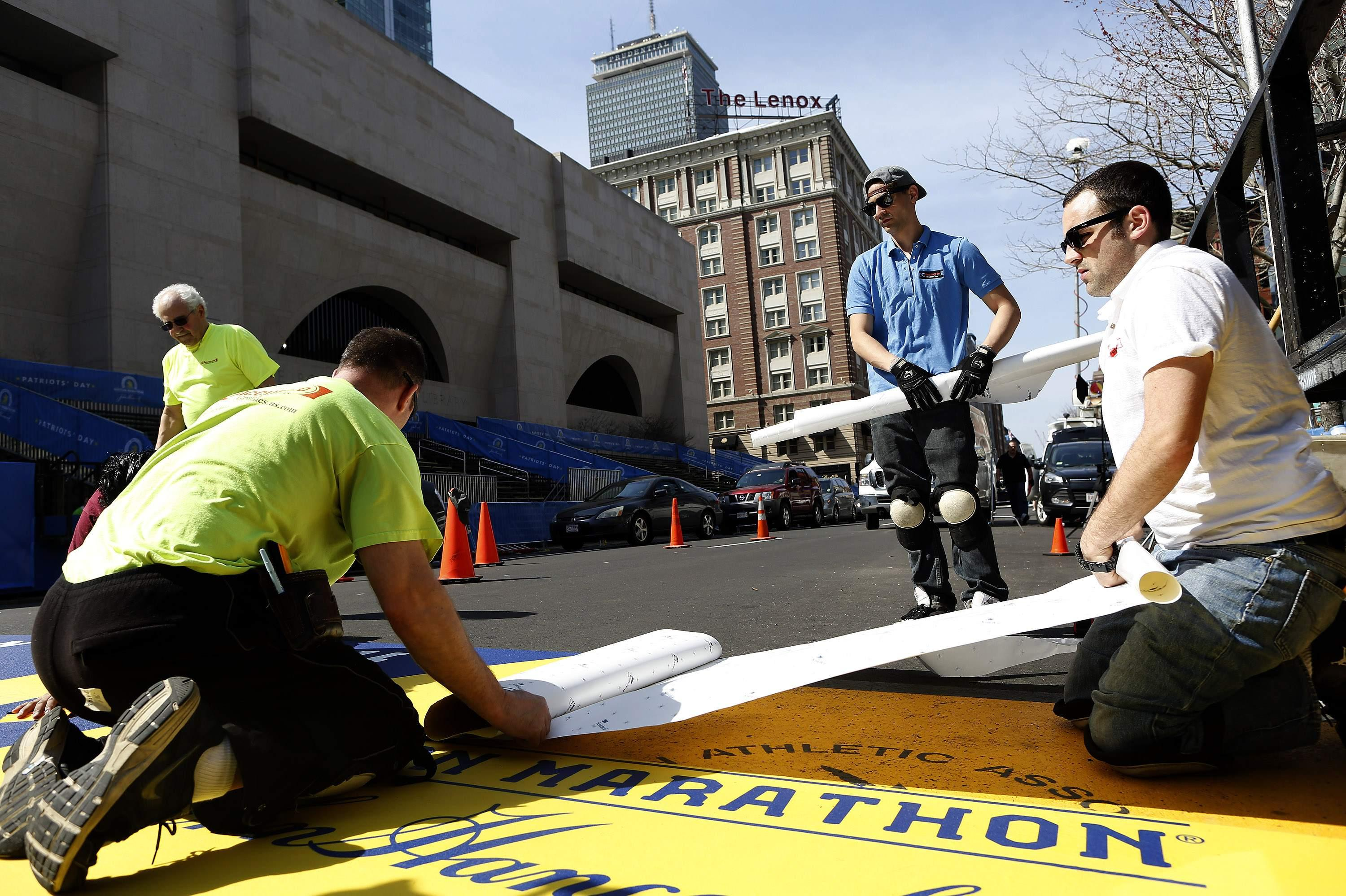 Boston Marathon Preparation - Finish Line