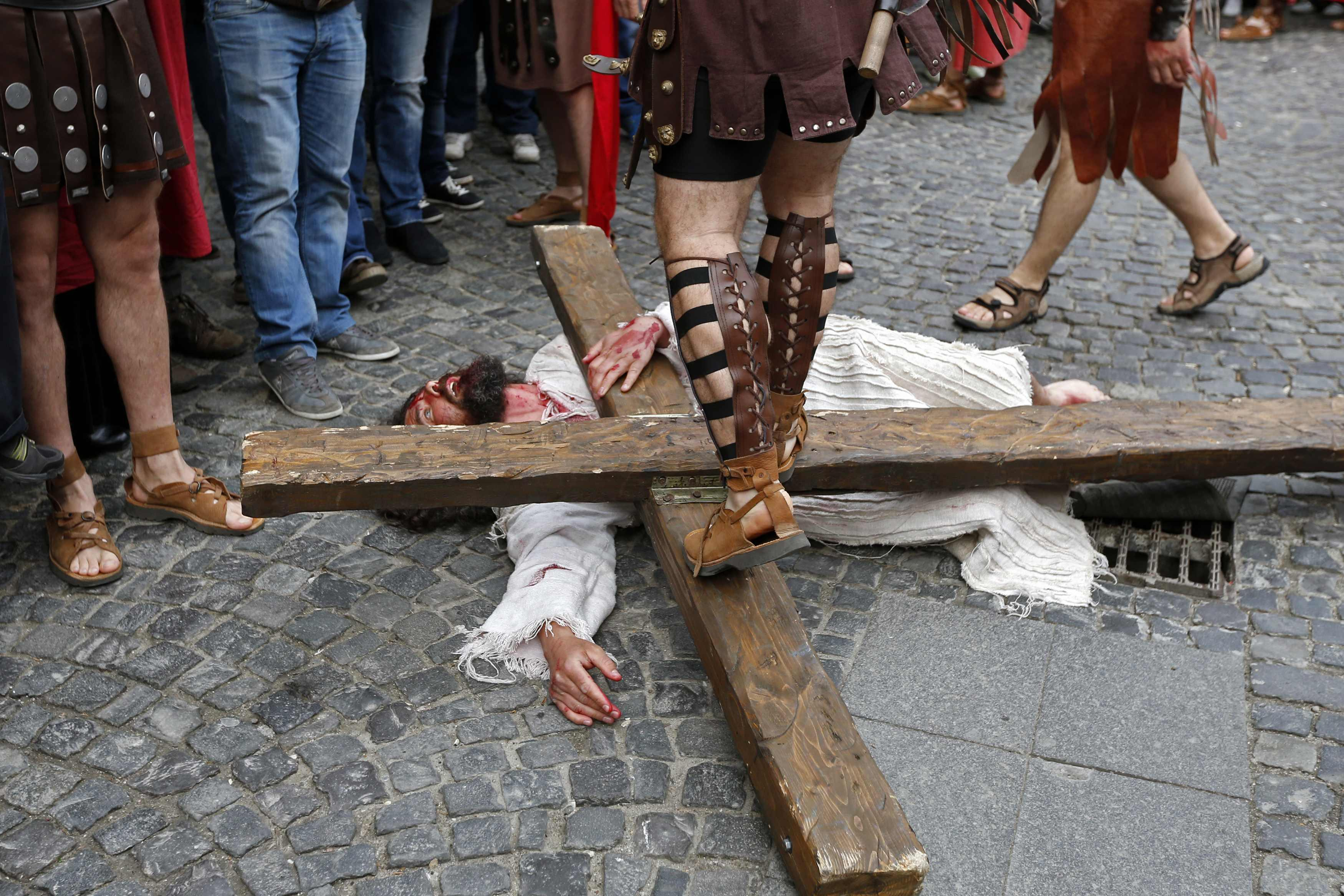 Holy Week - Via Crucis Reenactment