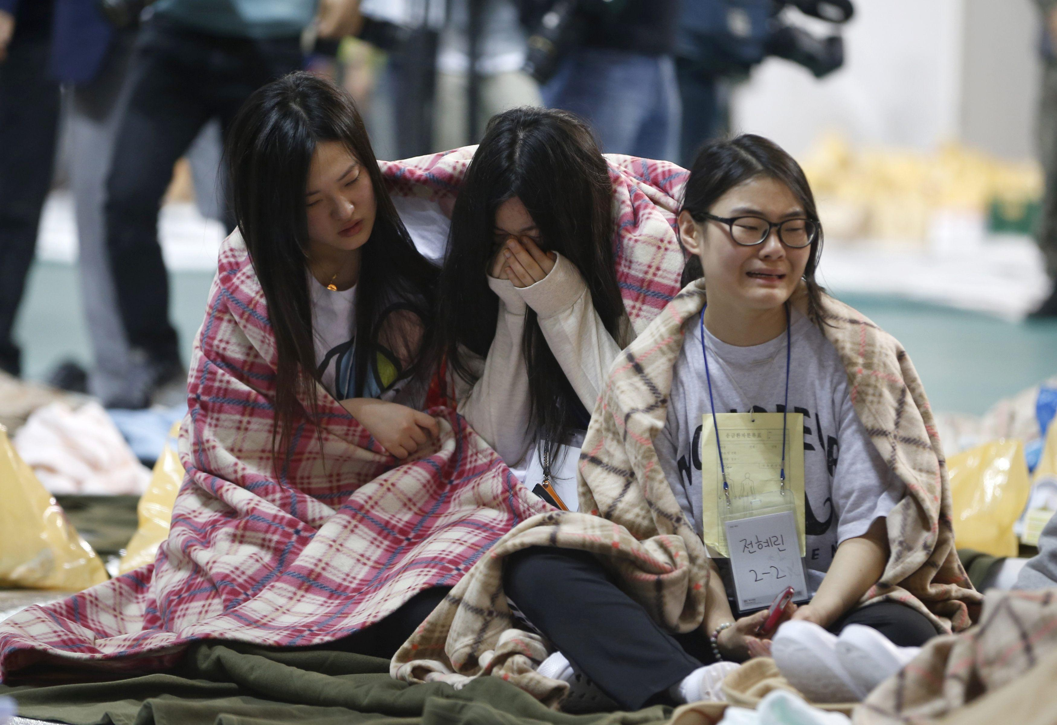 South Korea Ferry - Sewol Passengers
