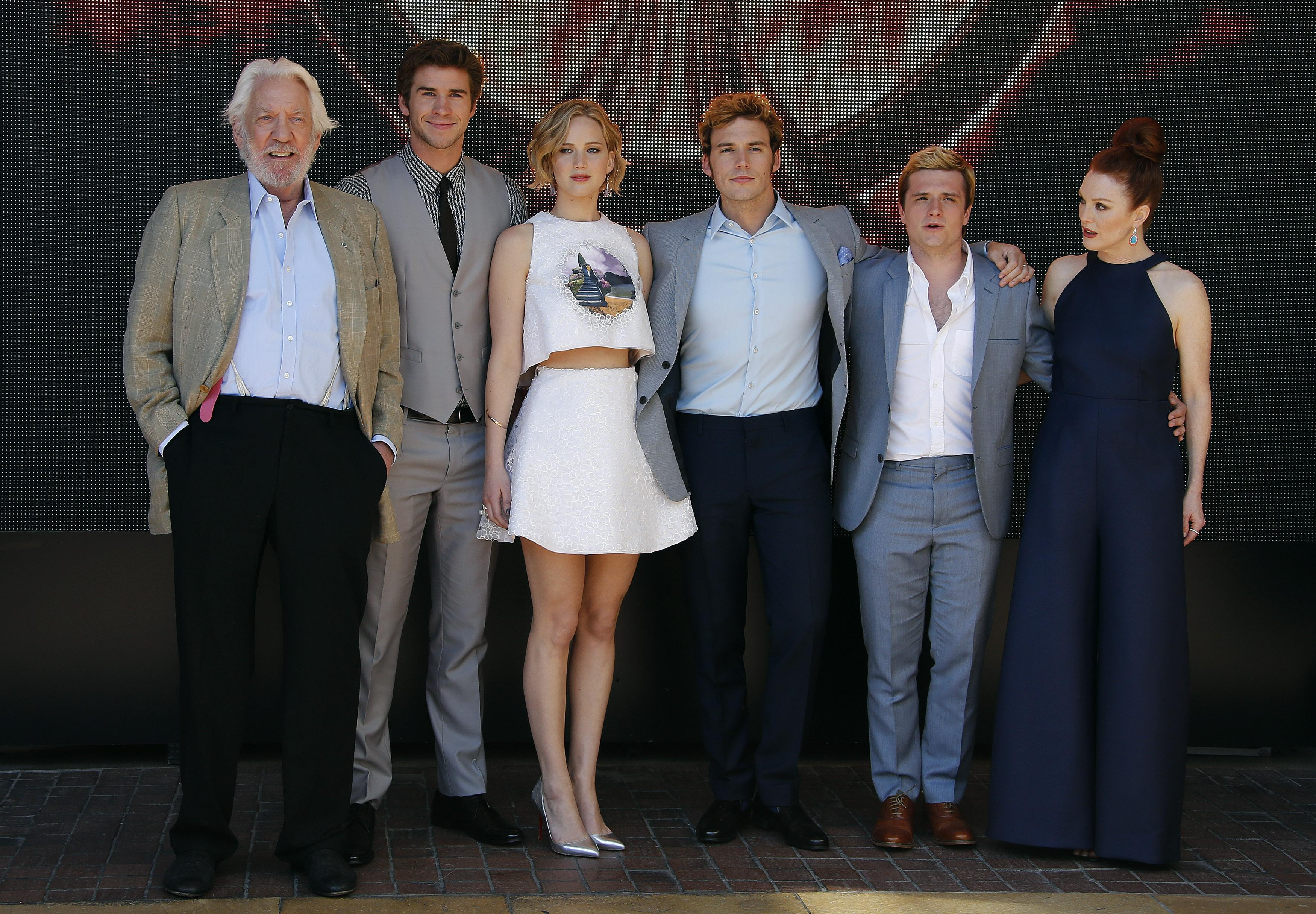 """The Hunger Games"""" Cast"""