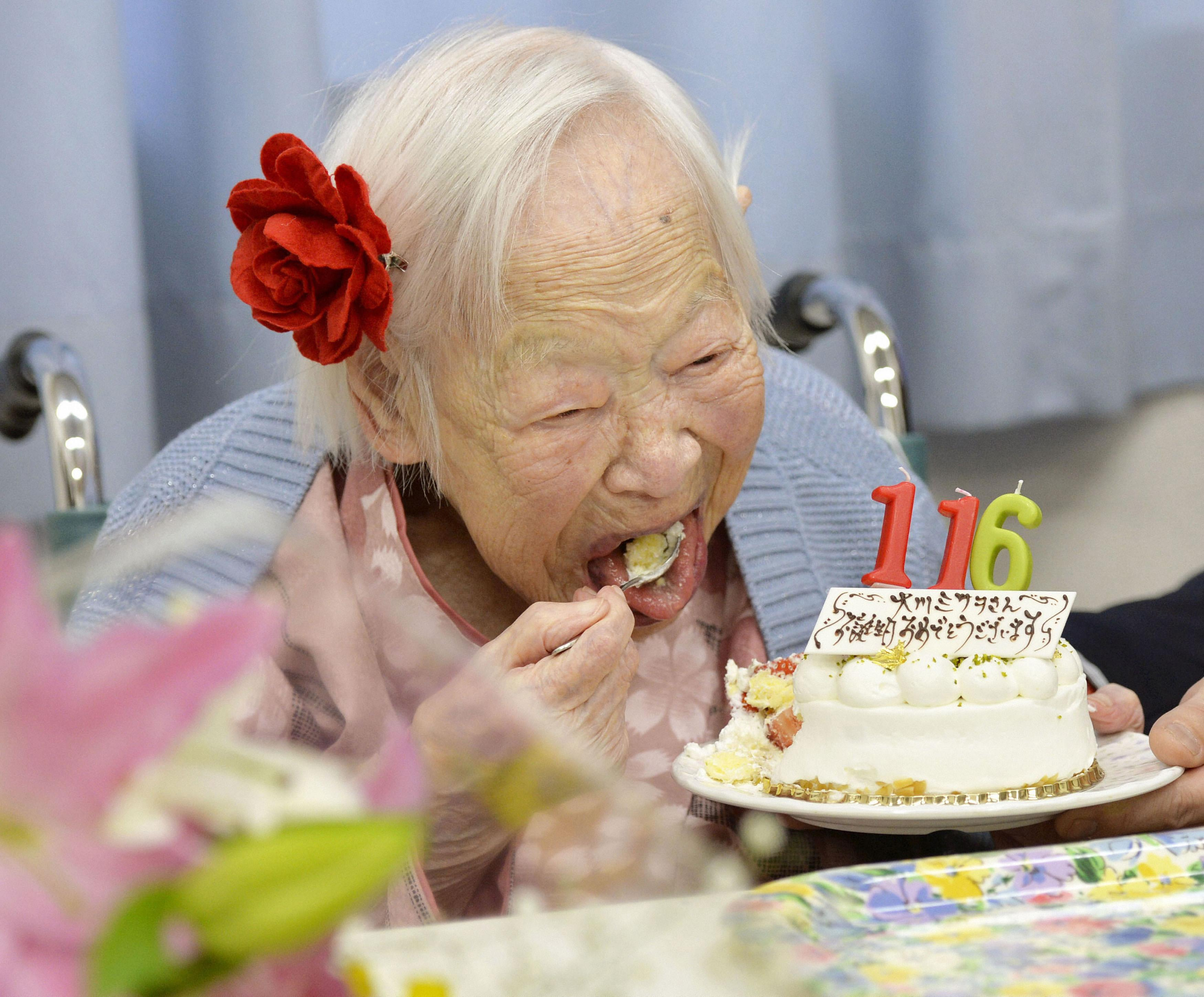 Misao Okawa, the World's Oldest Woman