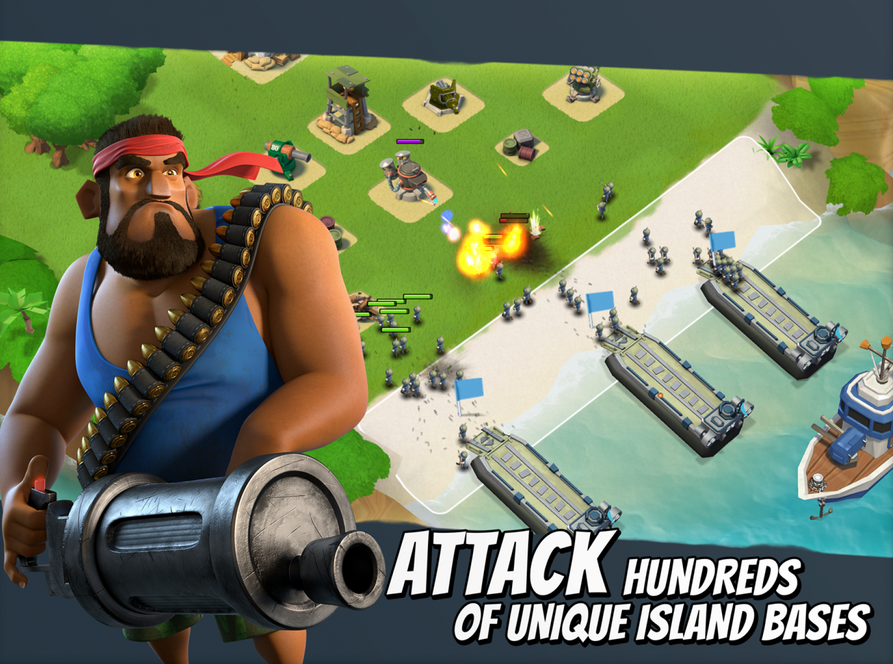 boom beach clash of clans clan wars supercell