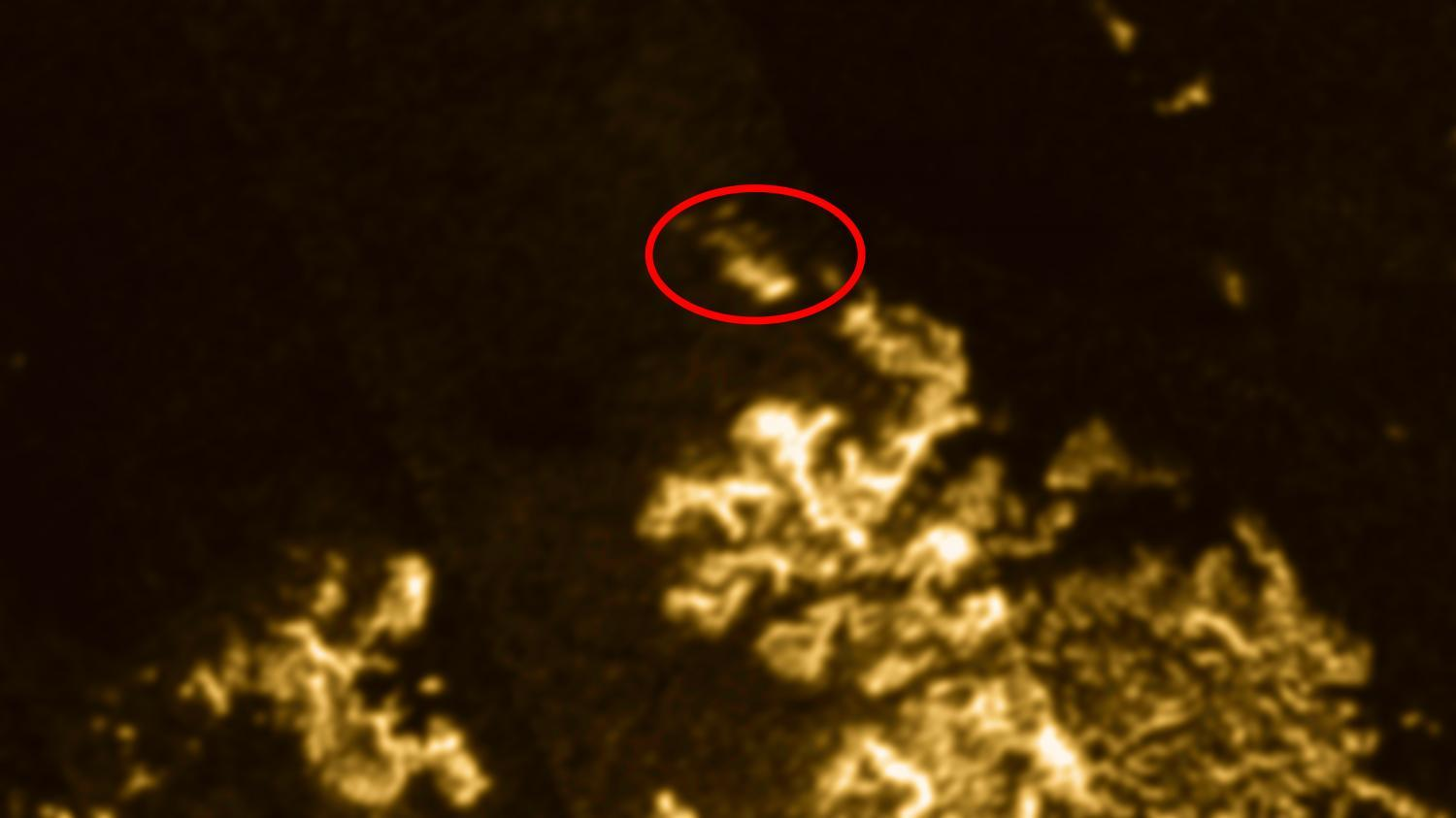 'Magic Island' On Titan