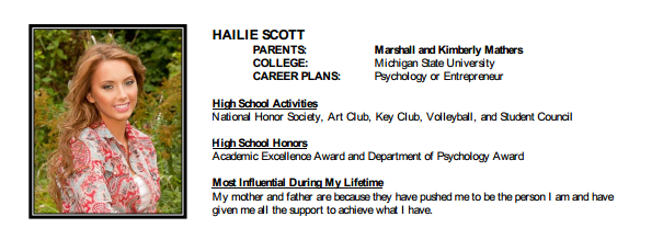 Eminem's Daughter, Hailie Scott, Graduated