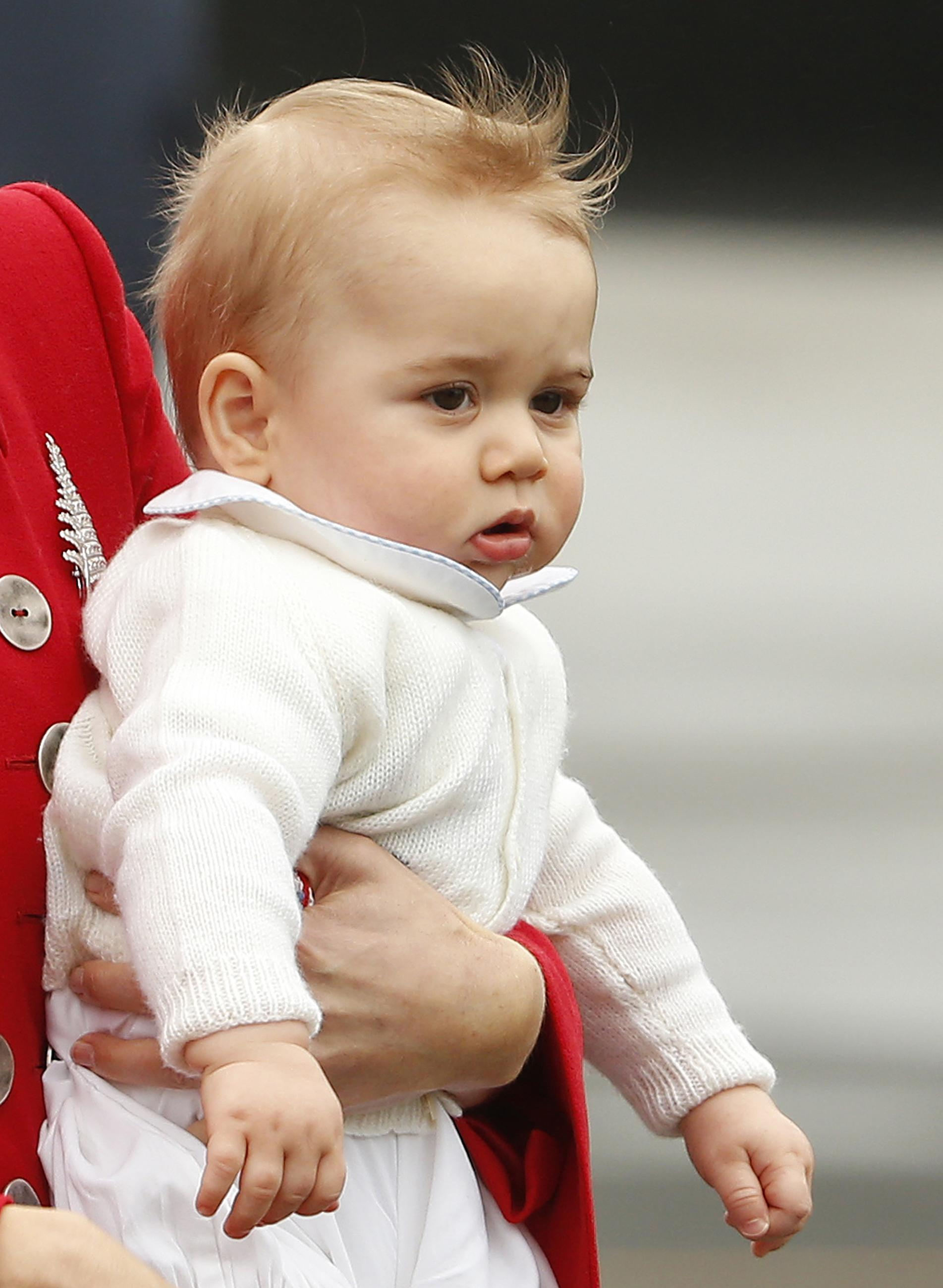 Prince George over flying