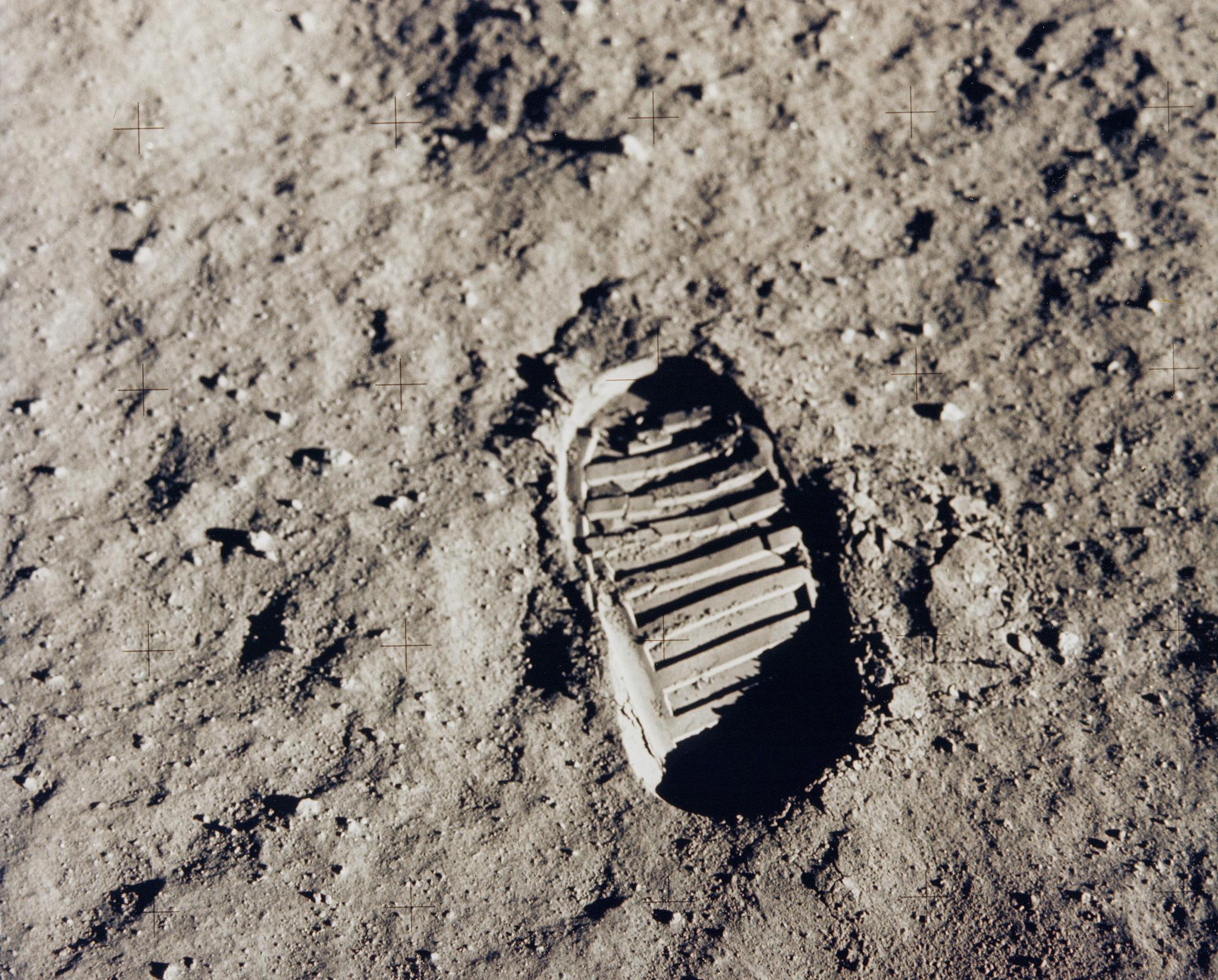 Apollo 11 Bootprint