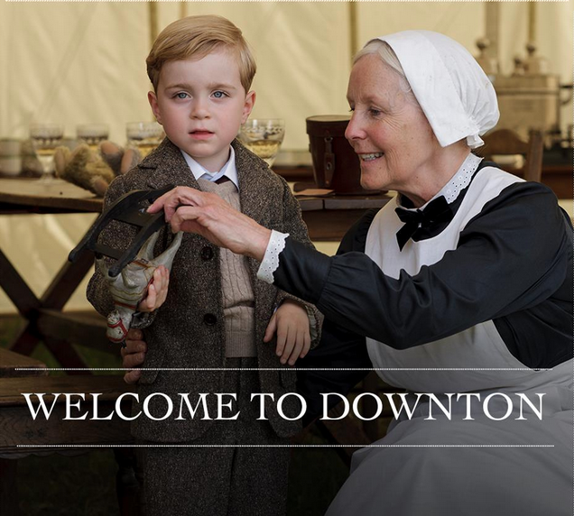 Downton Abbey George