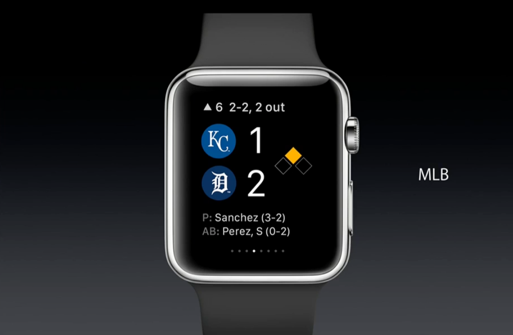 apple watch apps features mlb